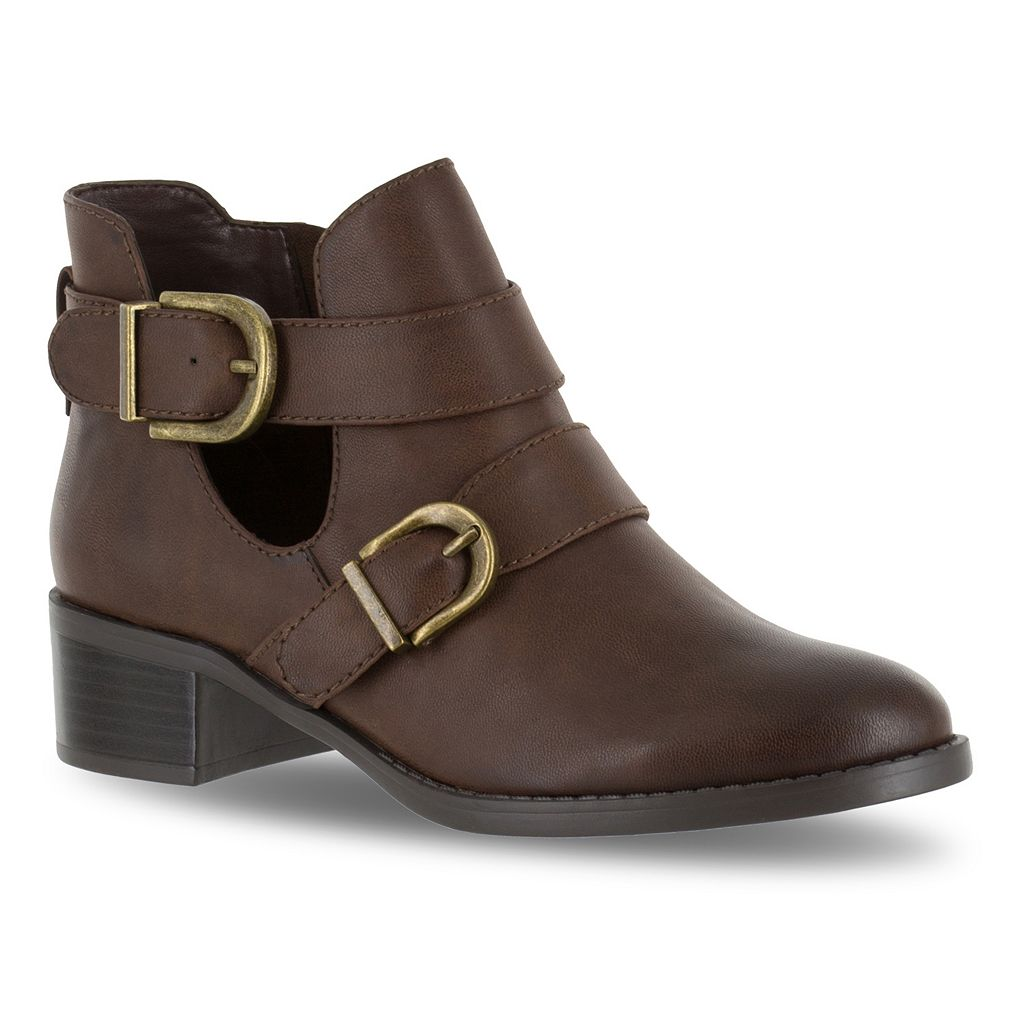 Easy Street Badge Women's Ankle Boots
