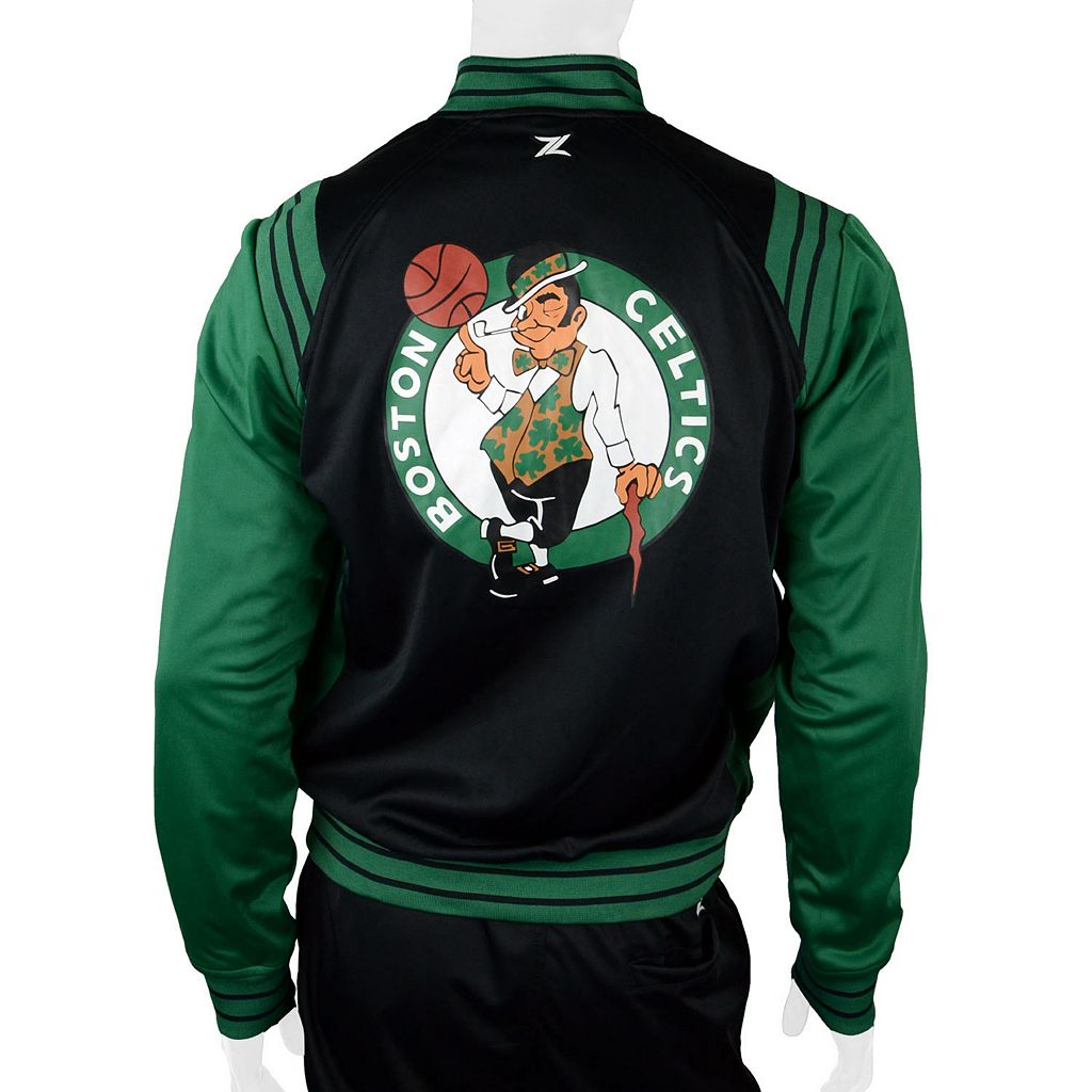 Men's Zipway Boston Celtics Gymnasium Jacket