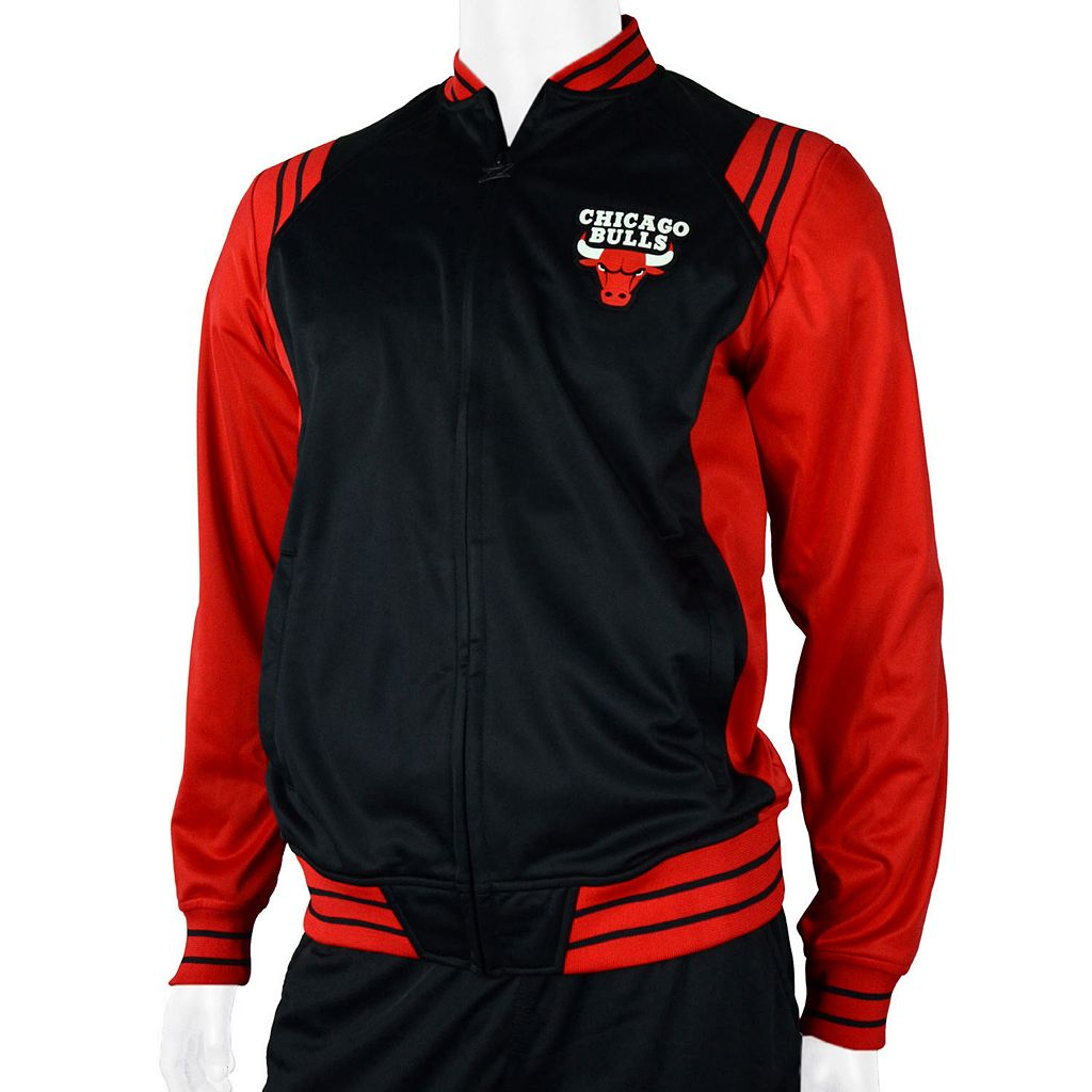 Men's Zipway Chicago Bulls Gymnasium Jacket
