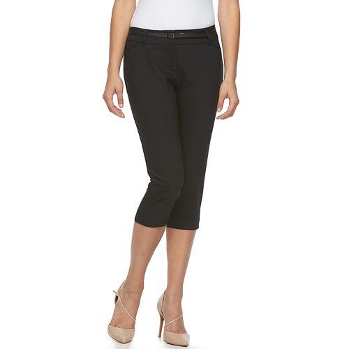 Apt. 9® Torie Curvy Fit Capri Pants