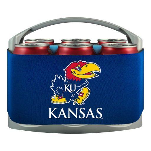 Kansas Jayhawks 6-Pack Cooler Holder