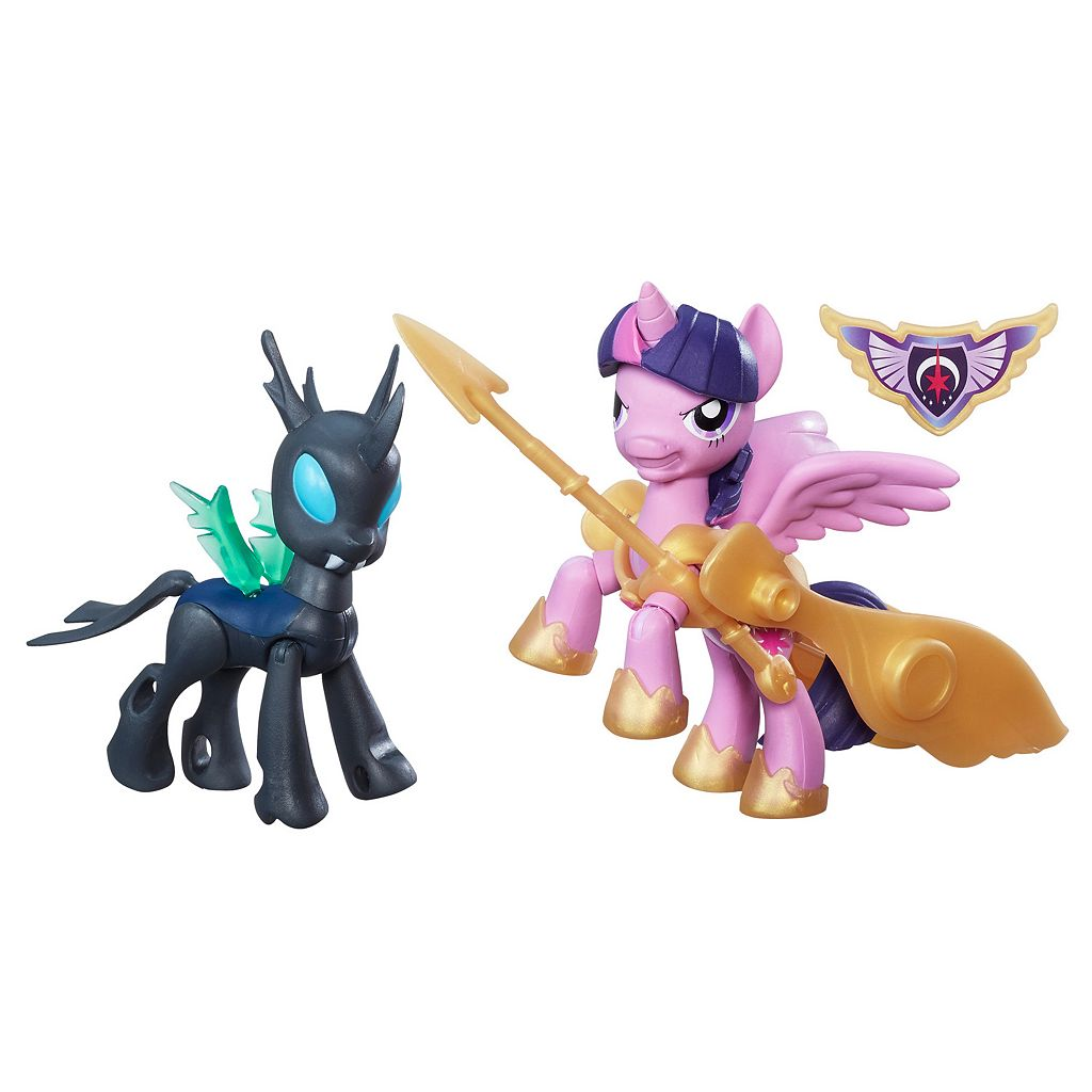 My Little Pony Guardians of Harmony Princess Twilight Sparkle v. Changeling by Hasbro
