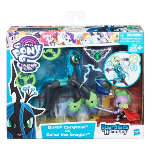 My Little Pony Guardians of Harmony Queen Chrysalis v. Spike the Dragon by Hasbro