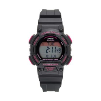 Casio Men's Tough Solar 120-Lap Digital Runners Watch - STLS300H-1CCR