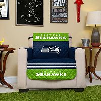 Seattle Seahawks Quilted Chair Cover