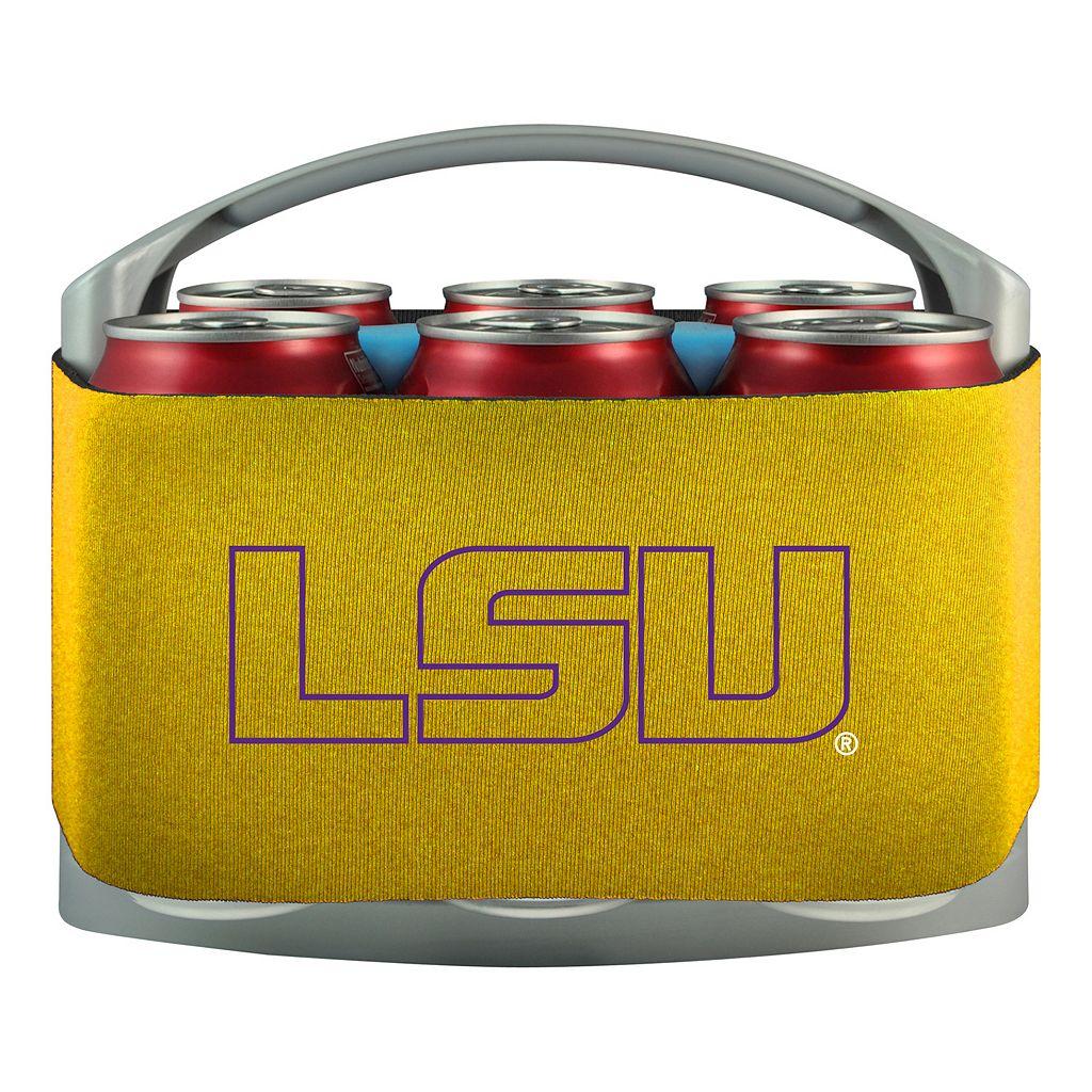 LSU Tigers 6-Pack Cooler Holder