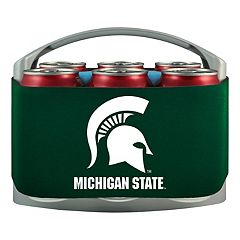 Michigan State Spartans 6-Pack Cooler Holder