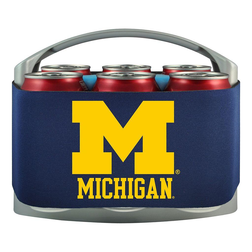 Michigan Wolverines 6-Pack Cooler Holder