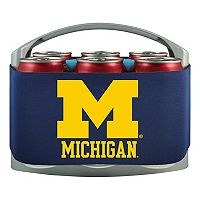 Michigan Wolverines 6-Pack Cooler Holder