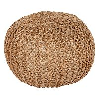 Decor 140 Calabozo Jute Pouf
