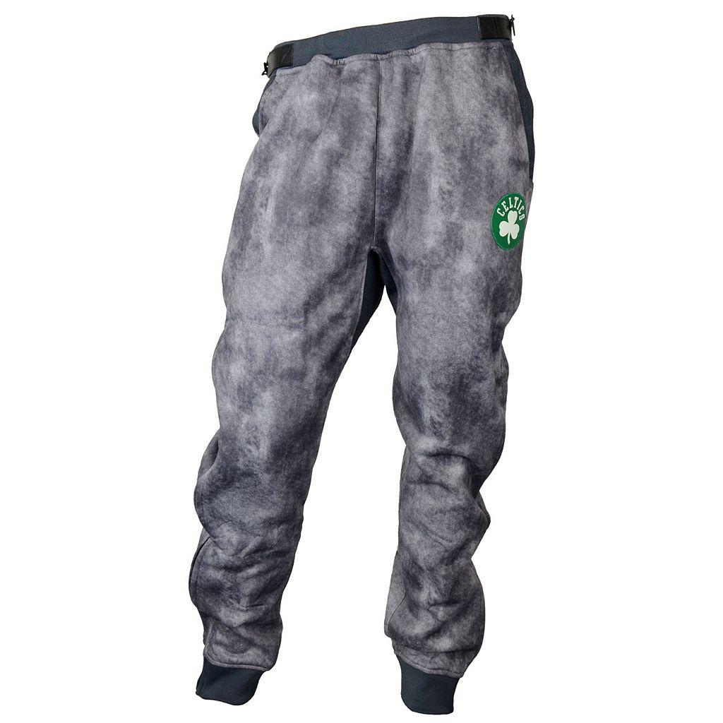 Men's Zipway Boston Celtics Denim Effect Fleece Pants