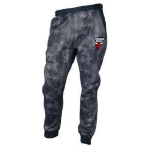 Men's Zipway Chicago Bulls Denim Effect Fleece Pants