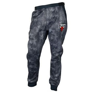 Men's Zipway Chicago Bulls Denim Effect Fleece Pants