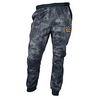 Men's Zipway Golden State Warriors Denim Effect Fleece Pants