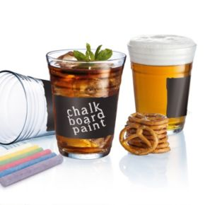 """Luminarc """"Write On It"""" Party Cup 6-pc. Glass Set"""