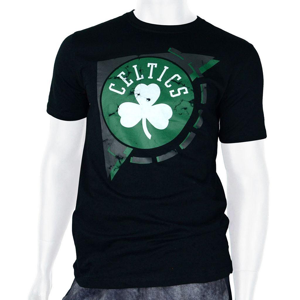 Men's Zipway Boston Celtics Free Throw Tee