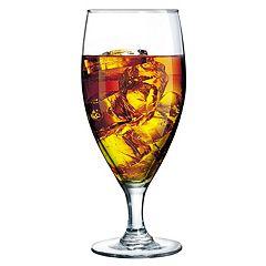 Luminarc Atlas 4 pc Footed Iced Tea Glass Set