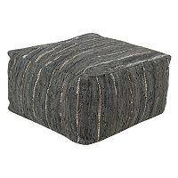 Decor 140 Alberdi Leather Pouf