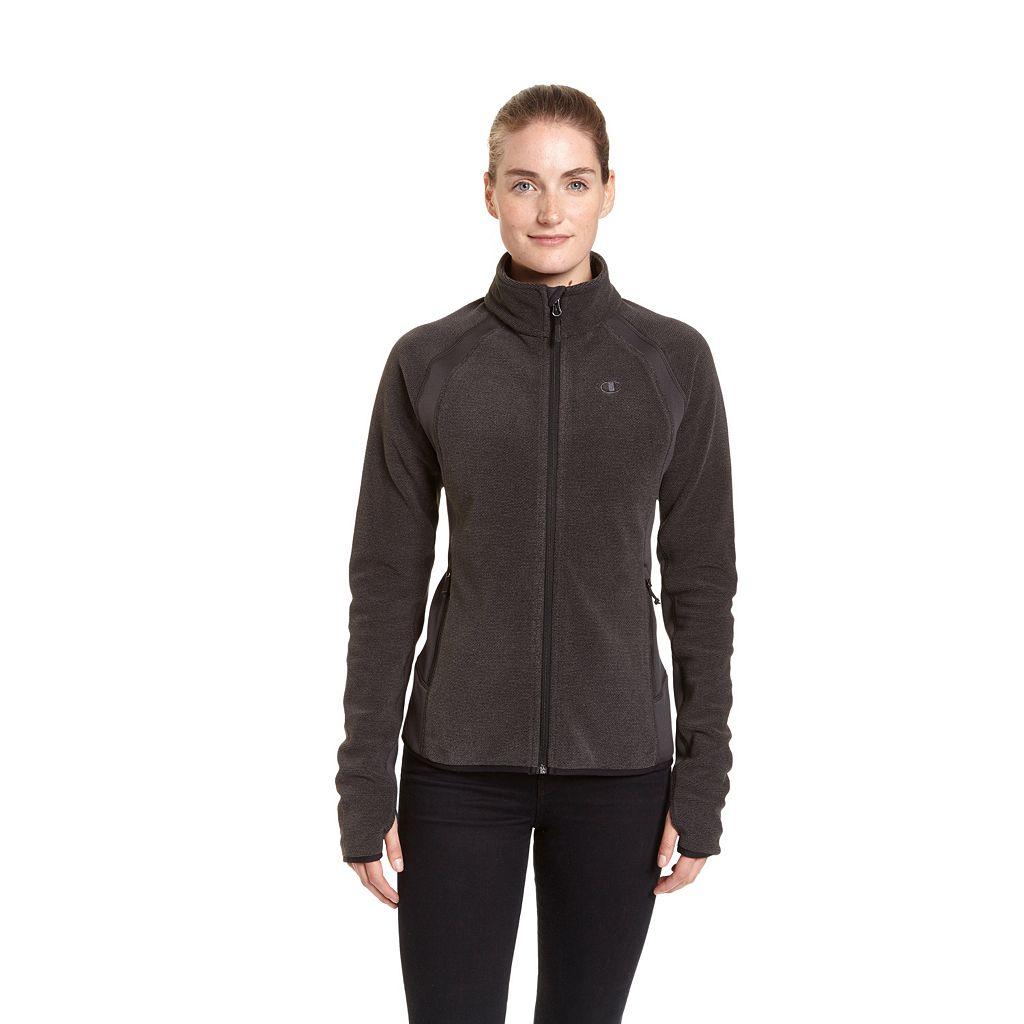 Women's Champion Raglan Sleeve Microfleece Jacket