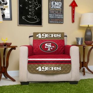 San Francisco 49ers Quilted Chair Cover