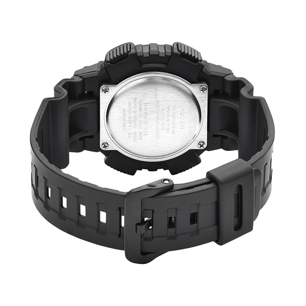 Casio Men's Telememo Analog-Digital Watch - AEQ110BW-9AVCF