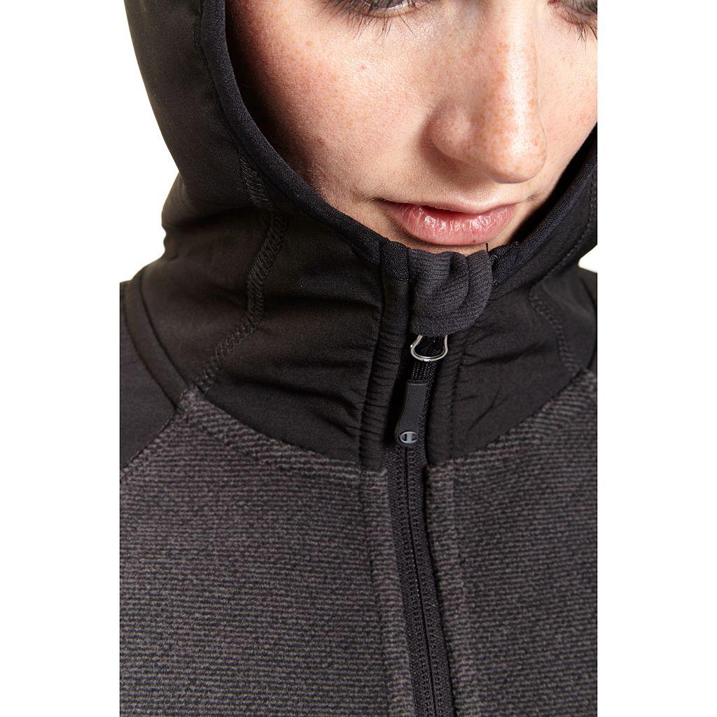 Women's Champion Textured Fleece Hoodie