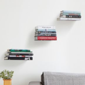 Umbra Small Conceal Floating Wall Shelf 3-piece Set