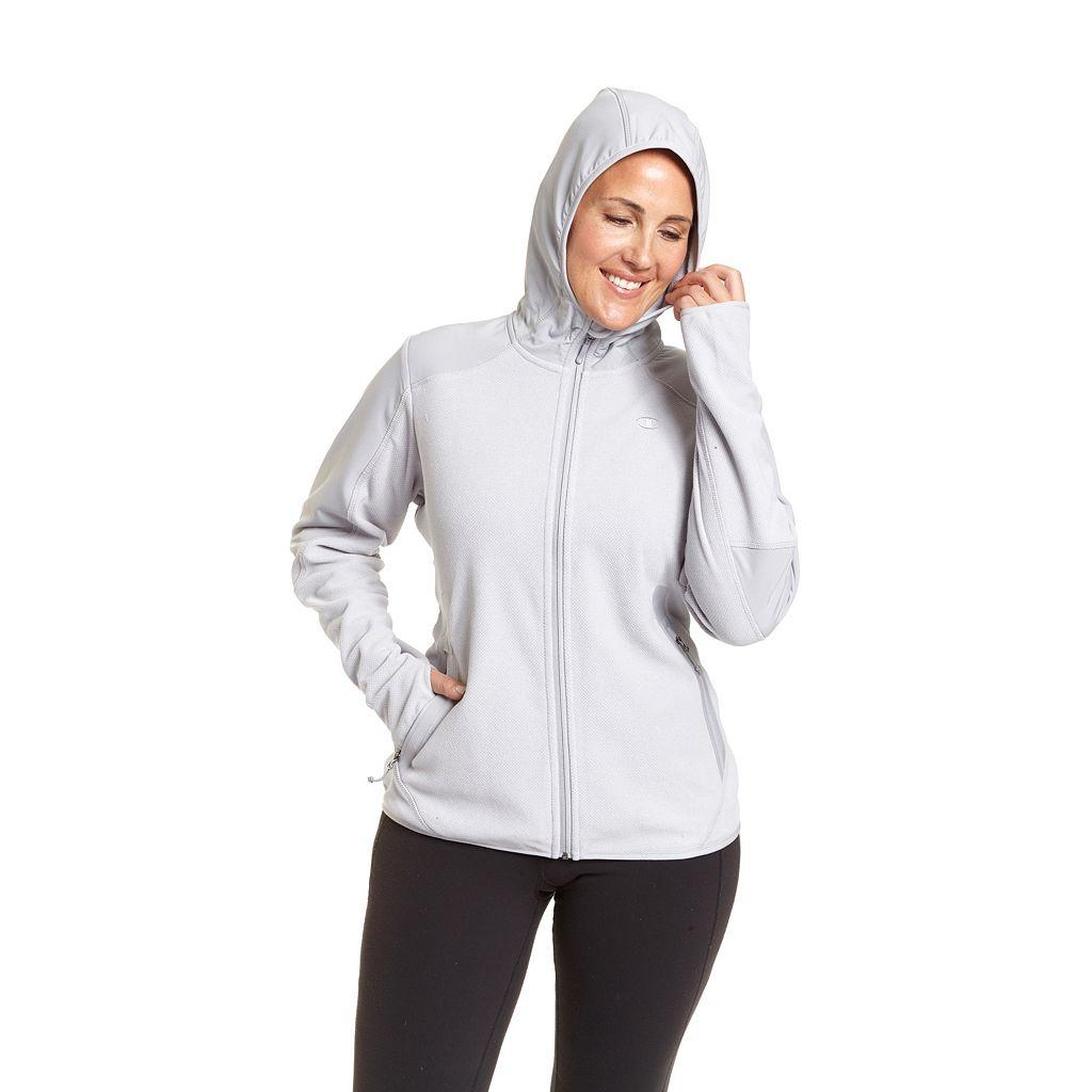 Plus Size Champion Textured Fleece Hoodie