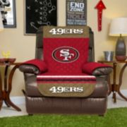 San Francisco 49ers Quilted Recliner Chair Cover