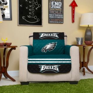 Philadelphia Eagles Quilted Chair Cover