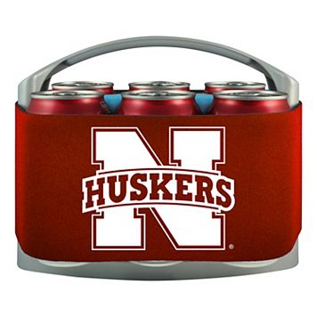 Nebraska Cornhuskers 6-Pack Cooler Holder