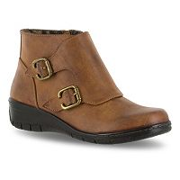Easy Street Abbott Women's Wedge Ankle Boots