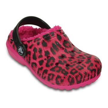 Crocs Classic Lined Graphic Kids' Clogs