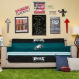 Philadelphia Eagles Quilted Sofa Cover