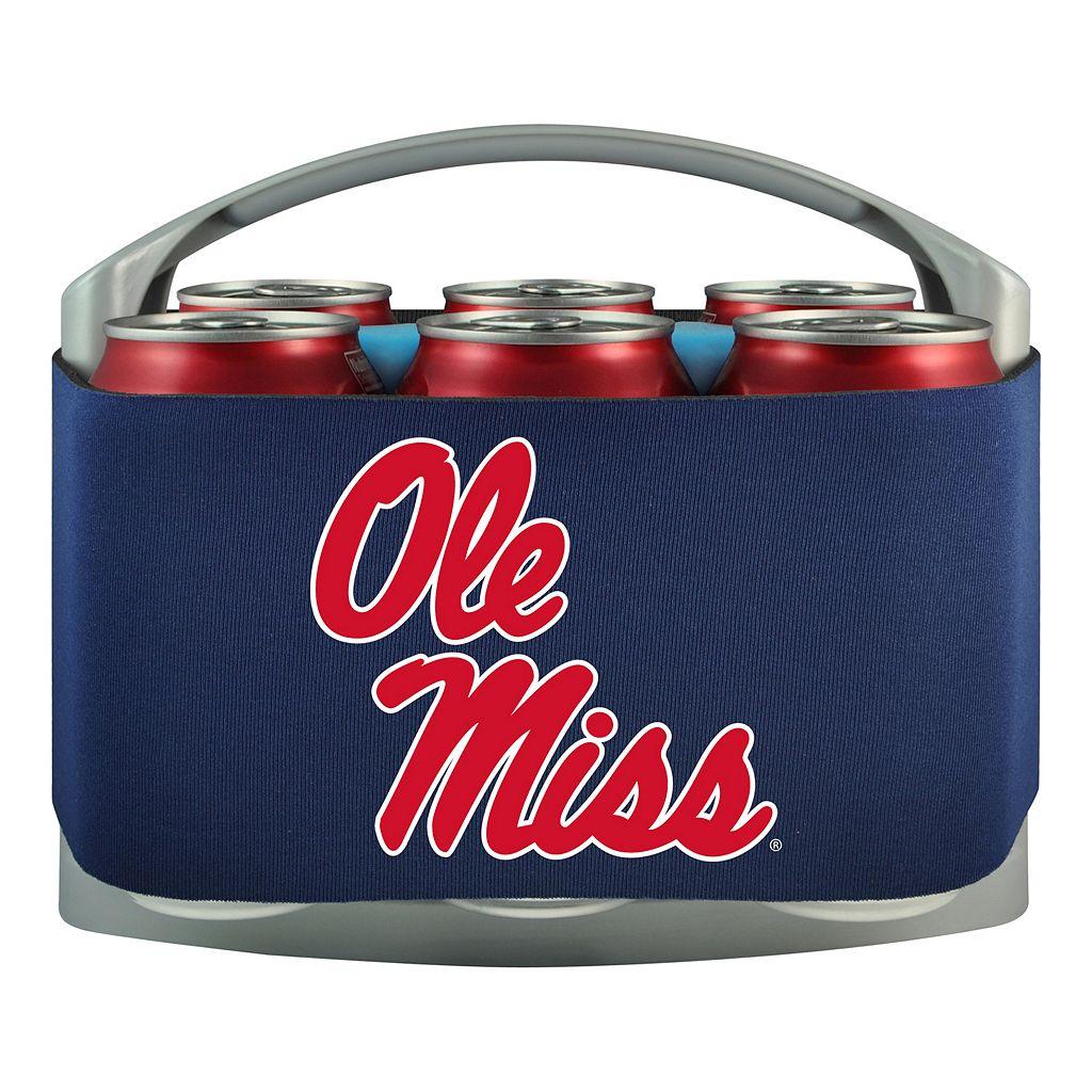 Ole Miss Rebels 6-Pack Cooler Holder