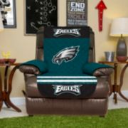 Philadelphia Eagles Quilted Recliner Chair Cover