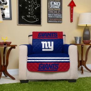 New York Giants Quilted Chair Cover