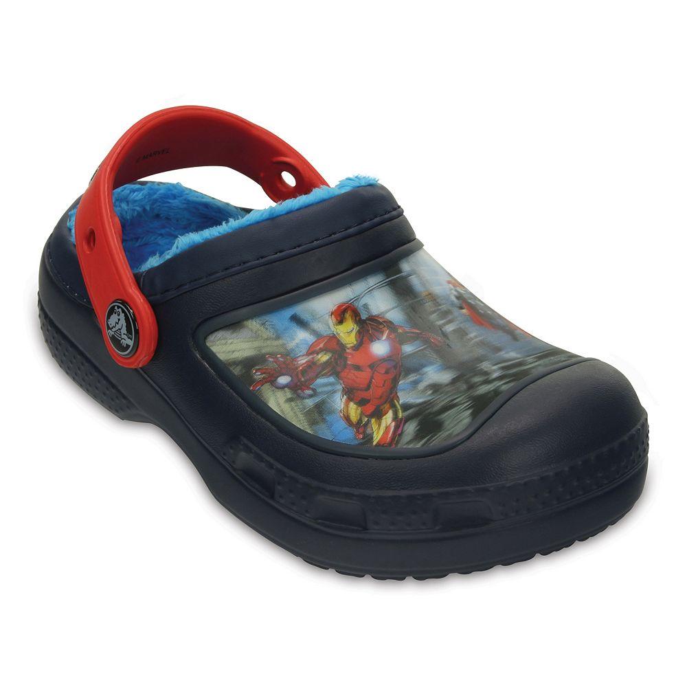 2a378d91df3e1 Crocs Marvel Avengers Lined Kids' Clogs