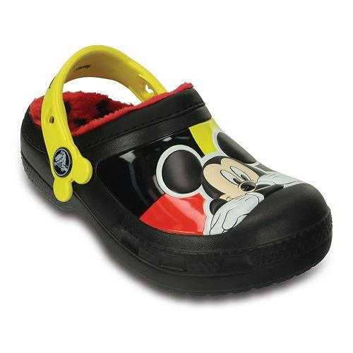 Crocs Disney Mickey Mouse Lined Boys' Clogs