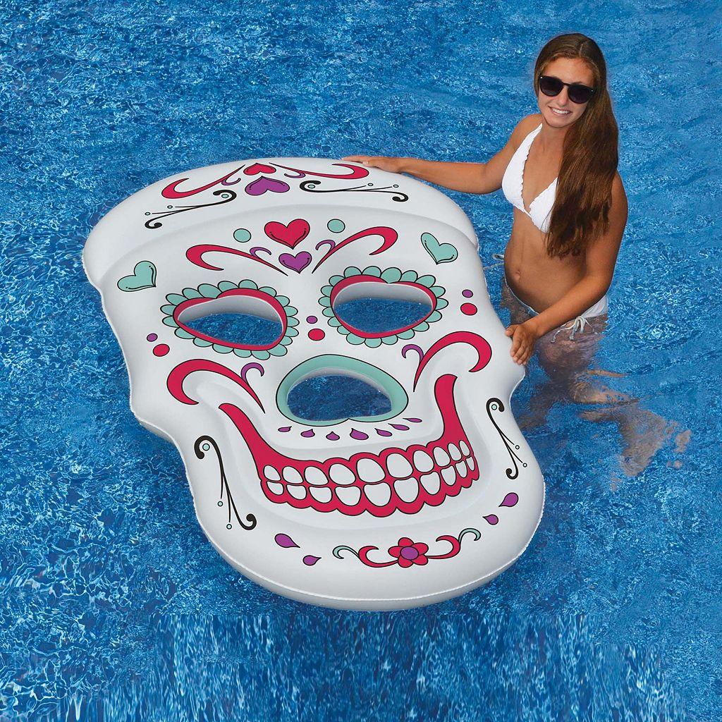 Swimline Sugar Skull Inflatable Pool Float