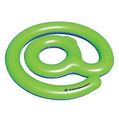 Swimline 62-Inch @-Symbol Inflatable Pool Float