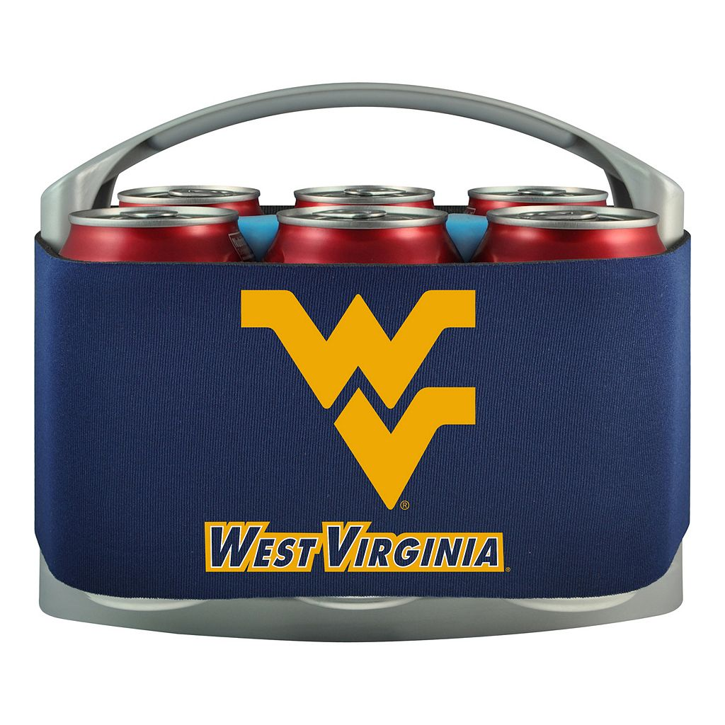 West Virginia Mountaineers 6-Pack Cooler Holder