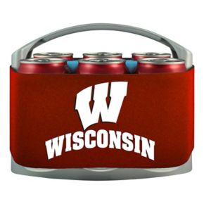 Wisconsin Badgers 6-Pack Cooler Holder