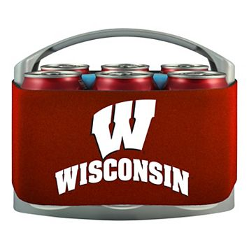 Wisconsin Badgers 6-Pack Cooler Holder