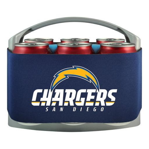 San Diego Chargers 6-Pack Cooler Holder