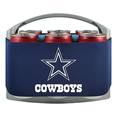 Dallas Cowboys 6-Pack Cooler Holder