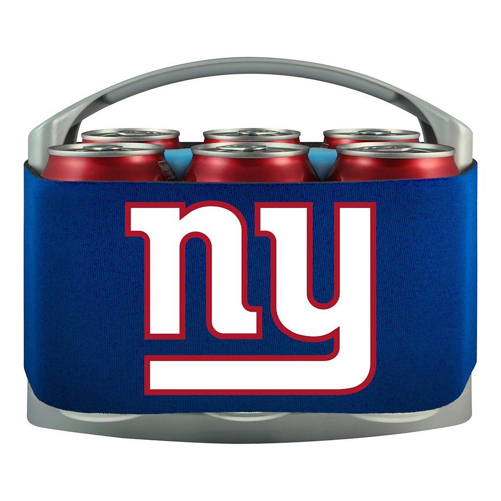 New York Giants 6-Pack Cooler Holder