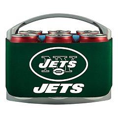 New York Jets 6-Pack Cooler Holder