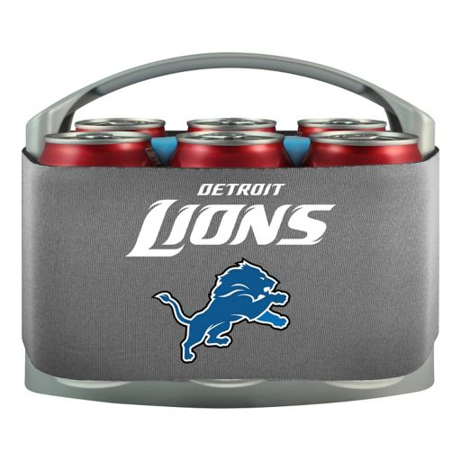 Detroit Lions 6-Pack Cooler Holder