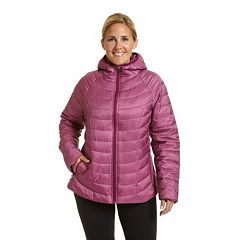 Plus Size Champion Hooded Puffer Jacket
